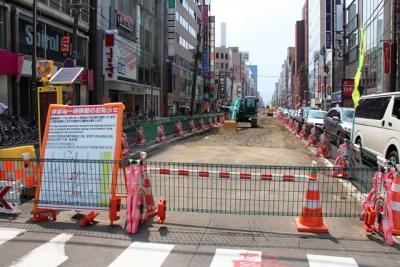 札幌市電路面電車ループ化工事