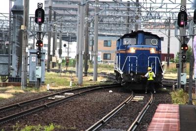 DD51形ディーゼル機関車付け替え