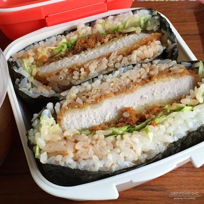 とんかつおにぎらず&秋鮭の三平汁弁当02