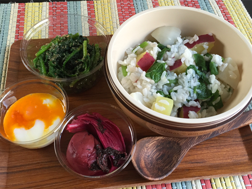 野菜粥弁当01