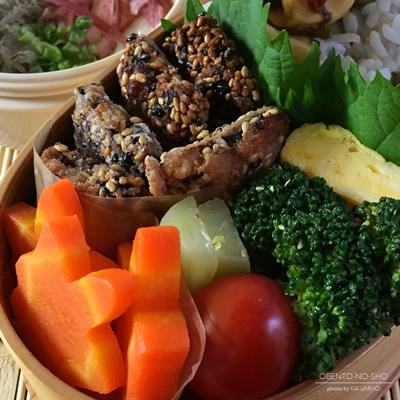 秋刀魚の胡麻揚げ弁当02
