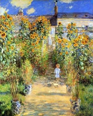 クロード・モネ「ヴェトゥイユのモネの庭」
