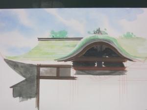 社殿の屋根