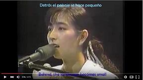 岡村孝子の「夢をあきらめないで」