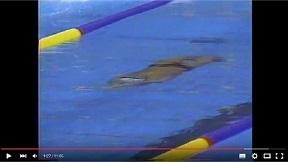 鈴木大地 背泳ぎ (88`ソウル五輪)