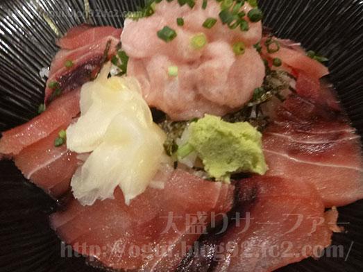 渋谷漁十八番マグロ丼大盛りおかわり自由001