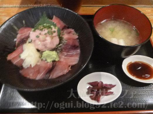 渋谷漁十八番マグロ丼大盛りおかわり自由013