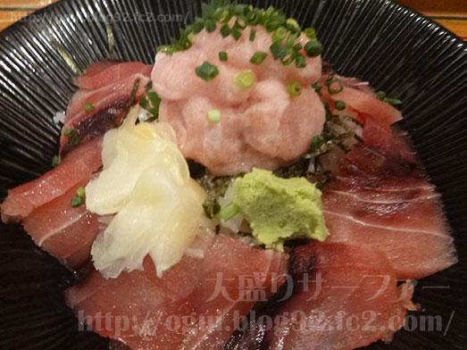 渋谷漁十八番マグロ丼大盛りおかわり自由014