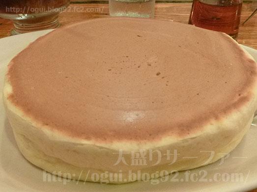 茅場町珈琲家のメニュー特製ホットケーキ024