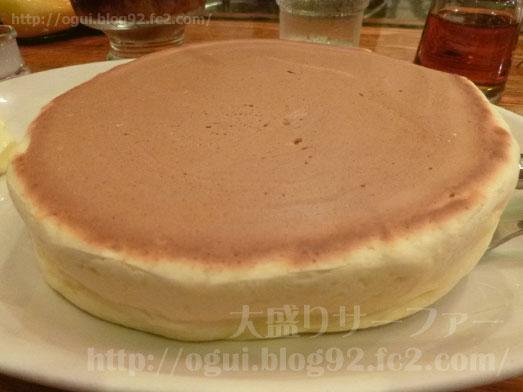 茅場町珈琲家のメニュー特製ホットケーキ039