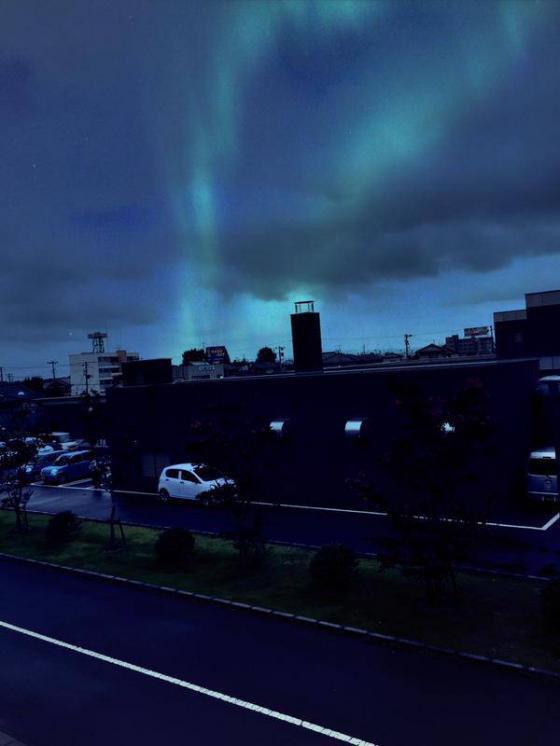 福島上空でオーロラの目撃情報あり…これって何が起きてるの?