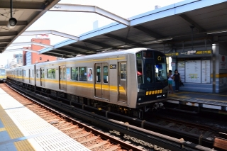 名古屋市交通局 N1000形電車 本郷駅