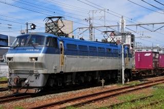 電気機関車 EF66 貨物列車