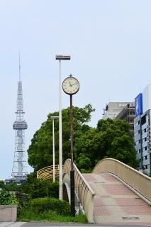 エンゼルブリッジとテレビ塔