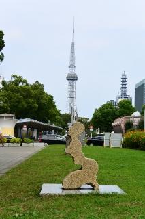 テレビ塔と希望「肖像」