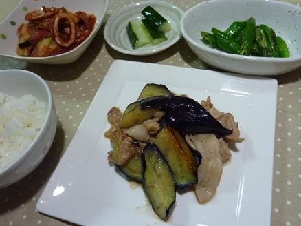 豚肉とナスの炒め物