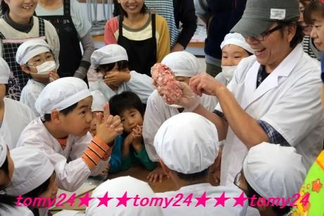 20151018 三年生ソーセージ作り (6)