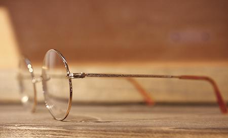 ビンテージ アンティーク めがねフレーム 丸メガネ 一山 いちやま 鼻パッドが無い眼鏡 新潟県 新潟市 長岡市 眼鏡屋