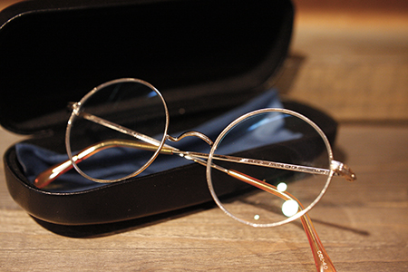 ビンテージ アンティーク めがねフレーム 丸メガネ 一山 いちやま 鼻パッドが無い眼鏡 新潟県 新潟市 見附市 眼鏡屋