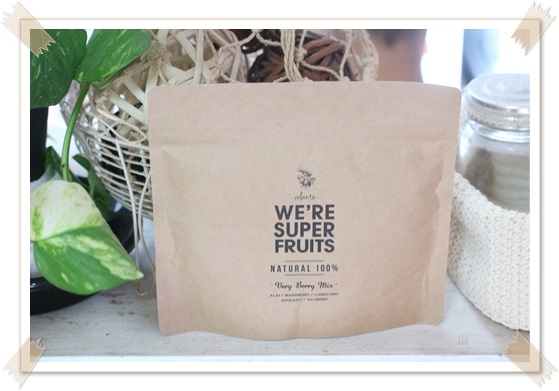 WE'RE SUPER FRUITS ウィーアースーパーフルーツ  モデル グリーンスムージー