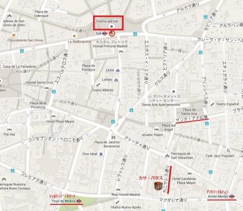 Mapa de Casa Patas