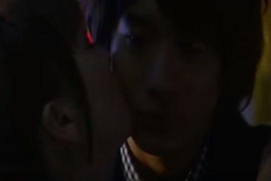 【香里奈】頬にキスをするラブシーン