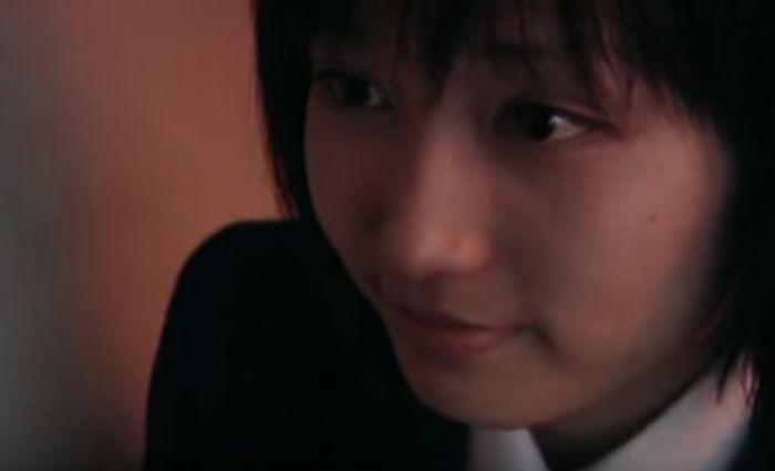 【三津谷葉子】愛の告白を受けるラブシーン