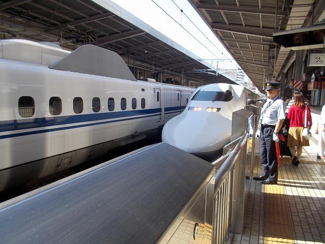 何年ぶりの新幹線