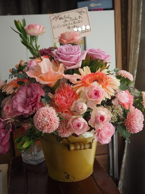 Kさんからのお花