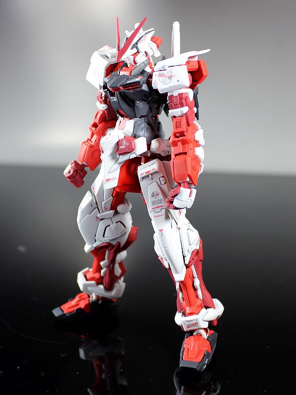 RG ガンダムアストレイ レッドフレーム 製作05