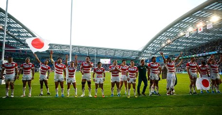 20150921日本が南アフリカに勝った