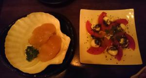 燻製ホタテ&燻製トマト