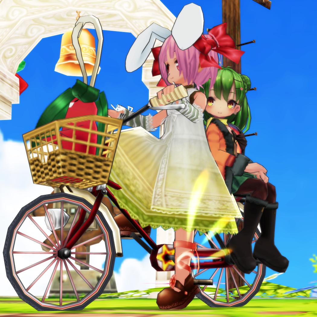 カップル☆自転車