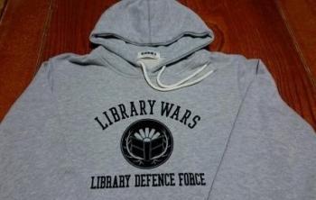 図書館戦争 コラボパーカー