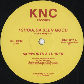 DG_SKIPWORTH and TURNER_I SHOULDA BEEN GOOD_201507