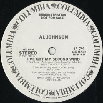 DG_AL JOHNSON_IVE GOT MY SECOND WIND_201509