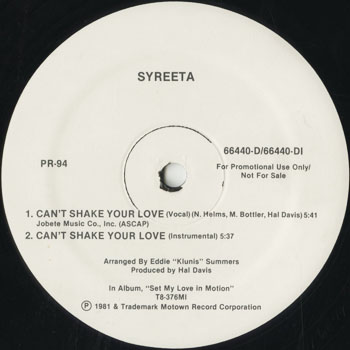DG_SYREETA_CANT SHAKE YOUR LOVE_201509