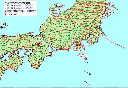 東京湾渦巻き