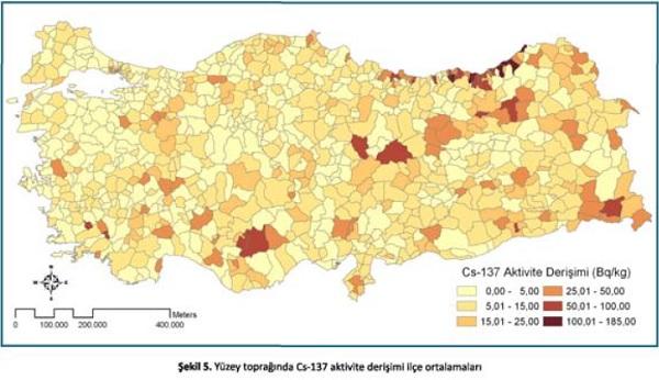 トルコ汚染地図
