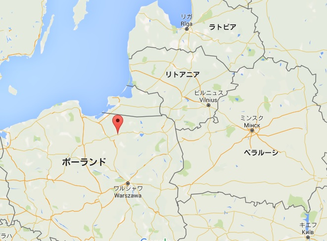 東欧諸国汚染ポーランドオルシュテイン