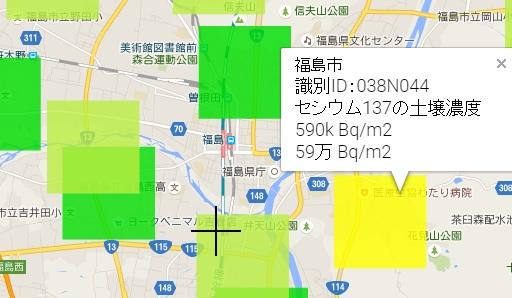 福島市汚染