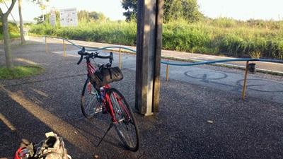 木津終点手前の公園