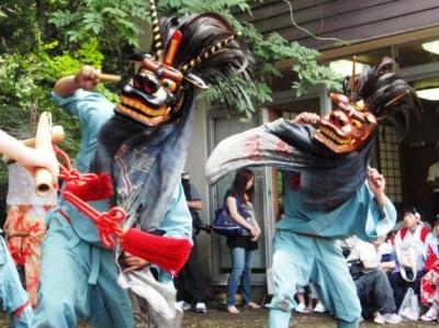 丹波山村ささら獅子舞踊り 003