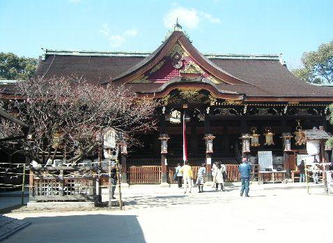 ki.北野神社拝殿