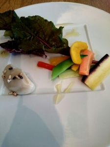 野菜とバーニャカウダー