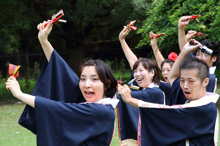 バサラ祭り 飛火野1