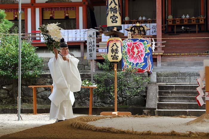 休ヶ岡八幡宮 秋祭り3