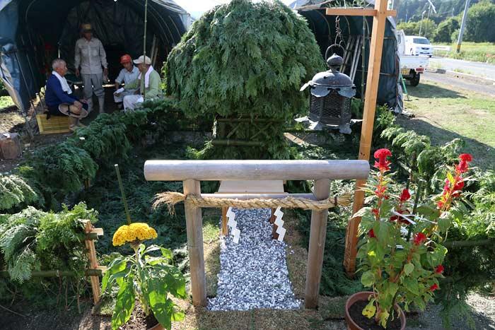 東阿田八幡神社 オカリヤ1