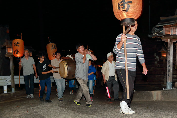 下市八幡神社 どんどこ詣り1