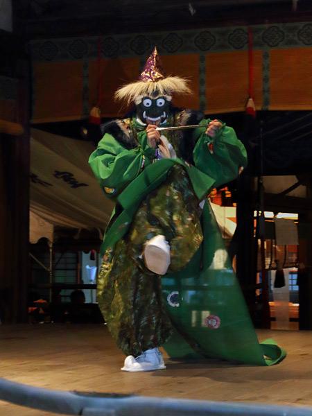氷室神社 夕座の舞楽5